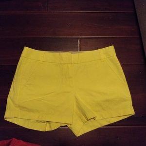 EUC J.Crew Chino shorts